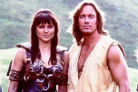 Did hercules and xena hook up