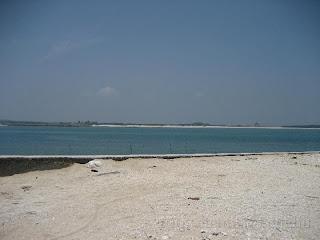 奎壁山西北角白色珊瑚貝塚沙灘