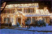 National Lampoon's Christmas Vacation lights