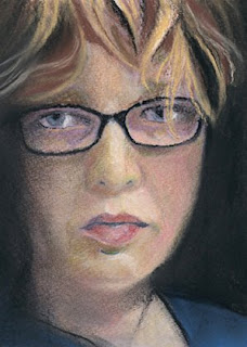 self portrait daily painting