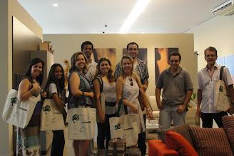 Olha a turma aqui...com as Eco Bag FLORENSE.
