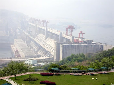 The biggest dam in the world