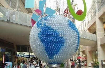 Beautiful creations with Plastic bottles