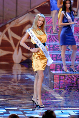 Miss Russia 2009 Sofia Rudieva lose her title.The 1st Runner Up Svetlana Stepankovskaya is the new miss Russia 2009 and will go to go to Miss World