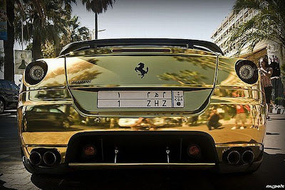 the golden ferrari