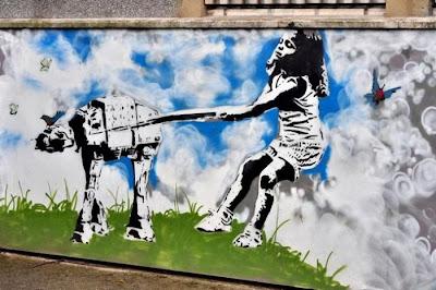 Street art graffitti