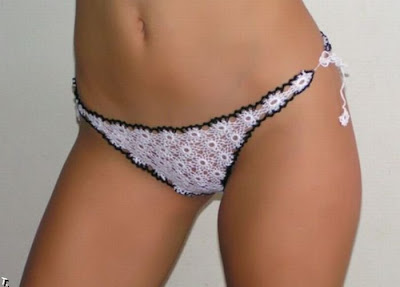 knit pattern thong