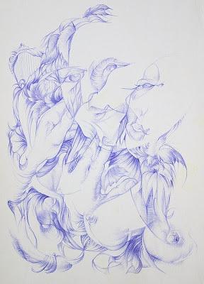 ballpoint pen art