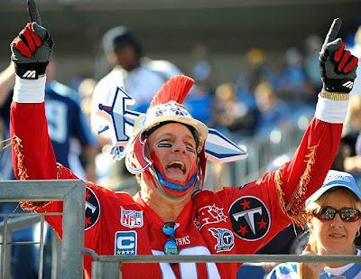 Sports fan costumes