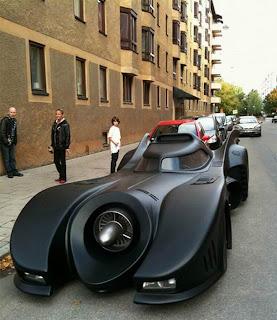 The bat mobile in Sweden