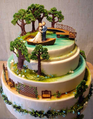 35 creative wedding cake designs curious funny photos pictures wedding cake designs junglespirit Image collections