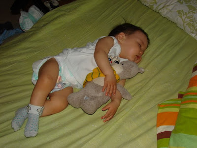 baby sleeping time