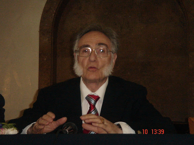 Marele Maestru al Ordinului Martinist Francez, Emilio Lorenzo, la Conferinţa C.I.S.C.E din mai 2008