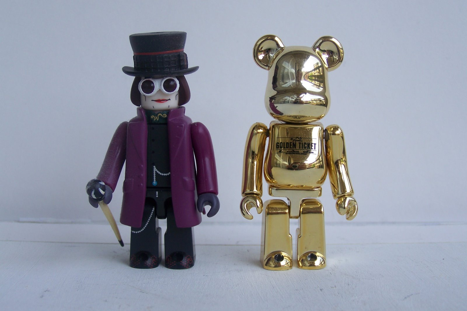 Willy Wonka & Bearbrick - KUBRICK 100_2222