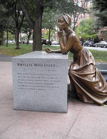"""Phillis Wheatley Statue."" Web. 29 Mar 2010."