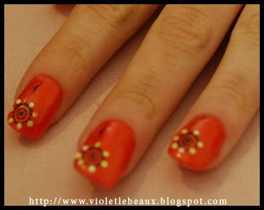 orange2 Nailart Pictures   Revisited