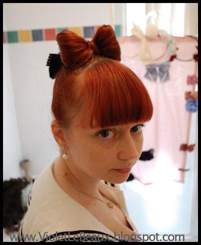 bow hairstyle tutorial medium