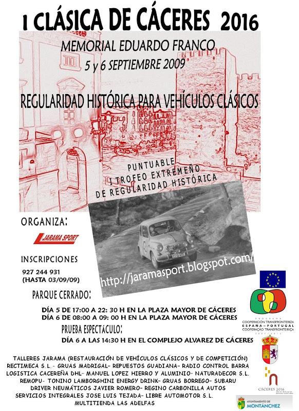 I CLÁSICA DE CÁCERES 2016