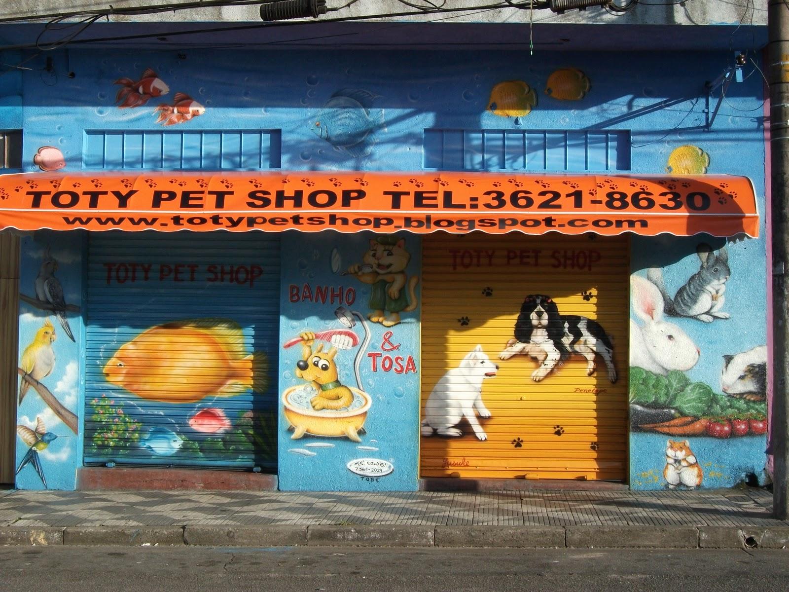 Well-known Toty Fish Peixes Ornamentais e Pet Shop: NOVA FACHADA TOTY PET SHOP FG52