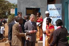 Prince Charles Visits slum dwellers of Kampala