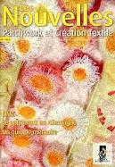 Les nouvelles du Patchwork et de la Création Textiles