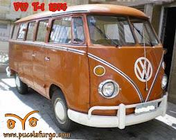 VW T1 de 1974, completamente restaurada