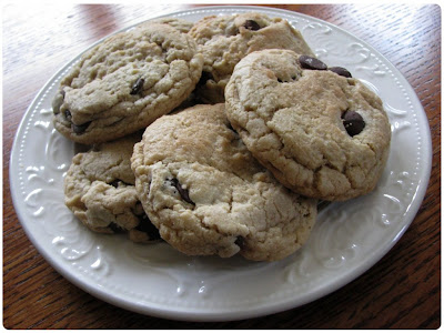 The Table Runner: Comfort Food = Alice's Chocolate Chip Cookies