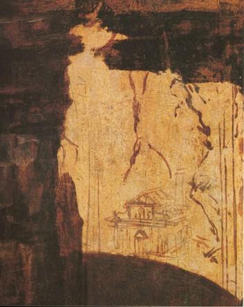 the art daily with Lydia: Leonardo da Vinci, St. Jerome in ...