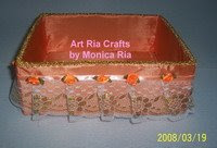 Kotak Cantik Jingga by Monica Ria