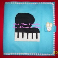 Piano File Cover by  Monica Ria