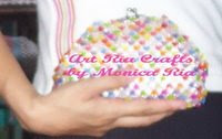 Flowers Encim Bag when hold by hand by Monica Ria