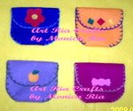 Mini Purse 2 - Art Ria Crafts by Monica Ria