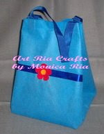 Damar Goody Bag With Flower - Art Ria Crafts by Monica Ria