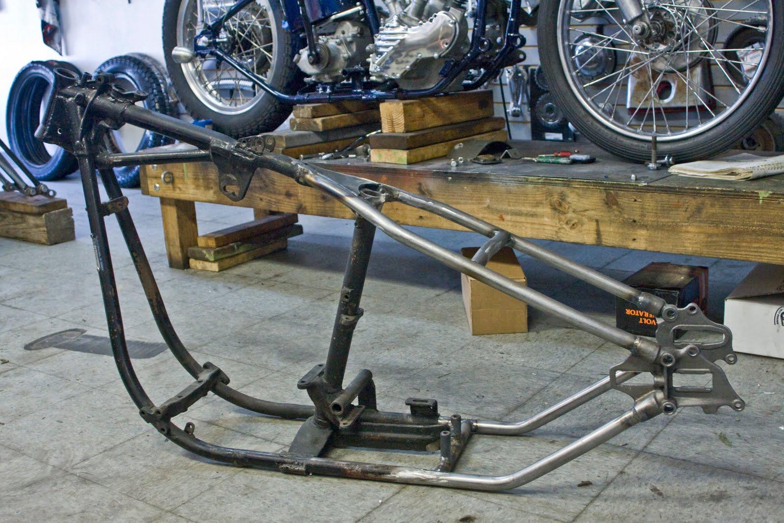 Haifley Brothers: Shovelhead Frame Service Complete...