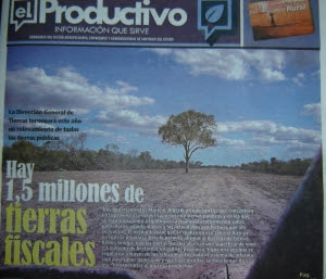 Foto: Tapa de 'El Productivo'