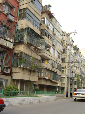 random Chinese apartment block