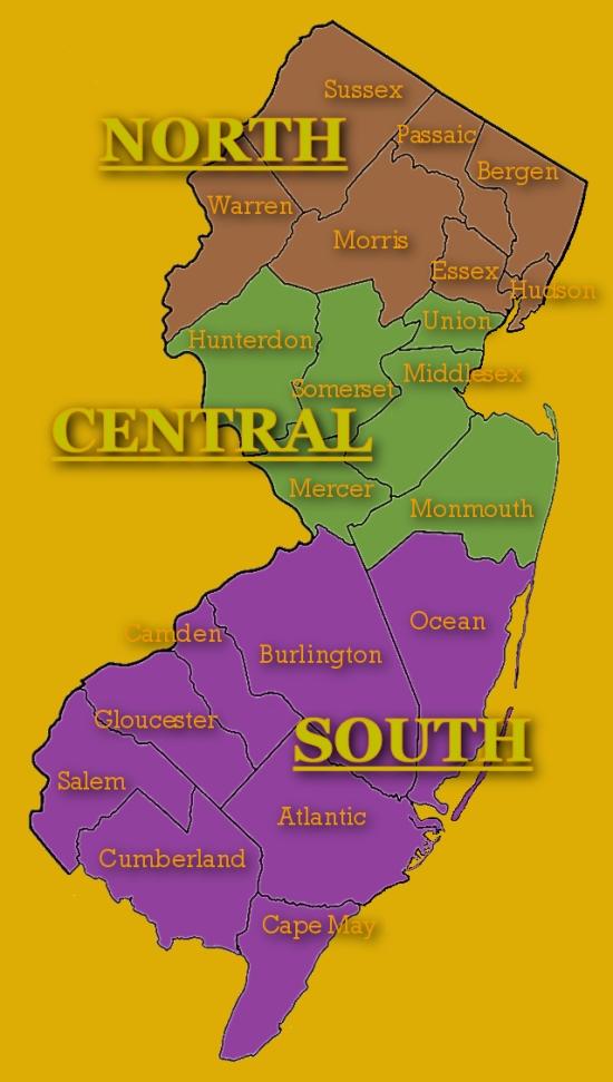 the great debate north vs central vs south jersey trenton