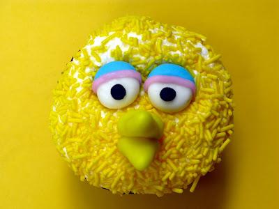 sesame street cupcakes. These fun Sesame Street