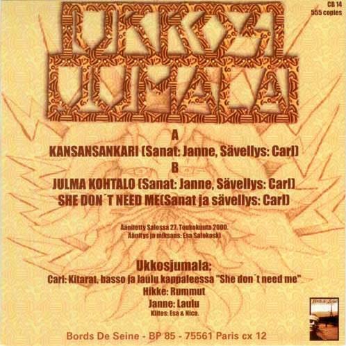 Ukkos Jumala - Kansansankari · Descarga. Publicado por Emer en 11:43
