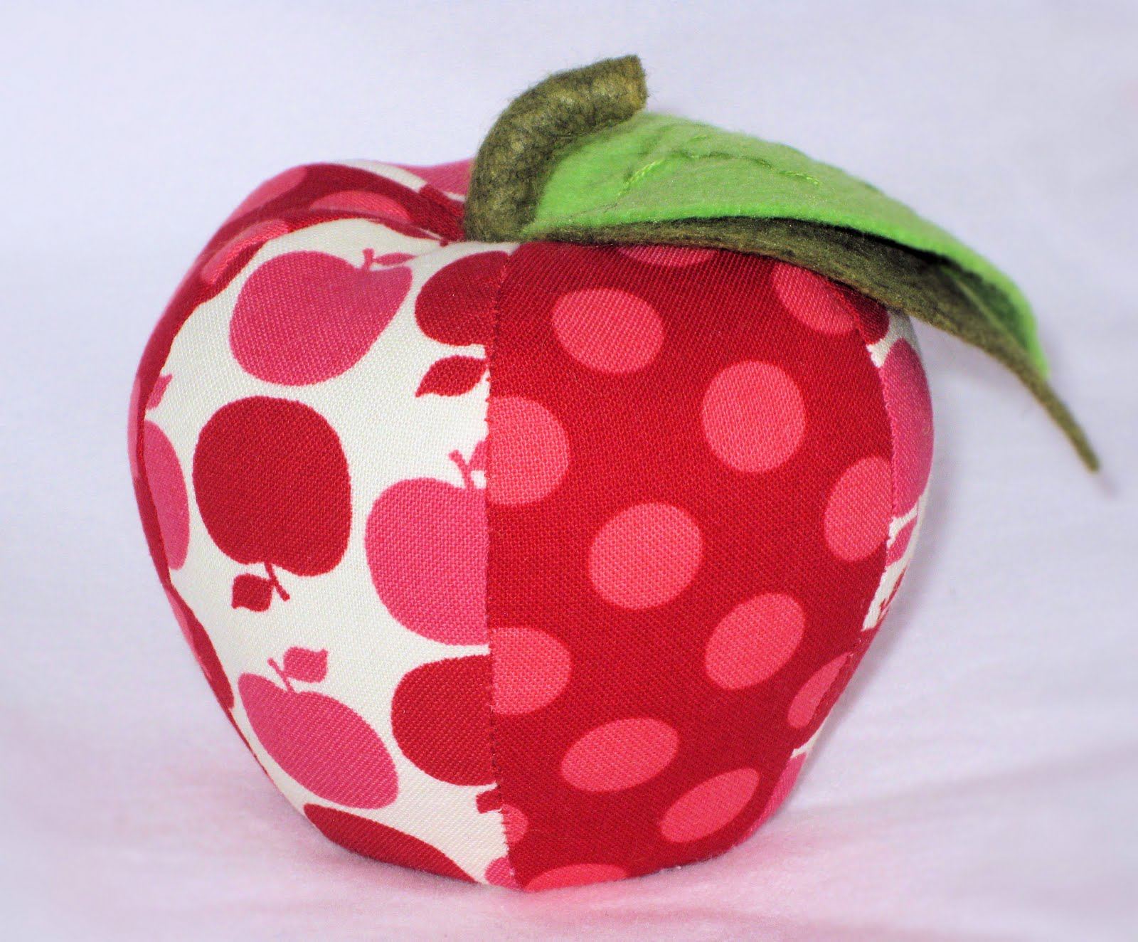 Apple Pincushion and Ornament PDF Sewing Pattern Instant ...