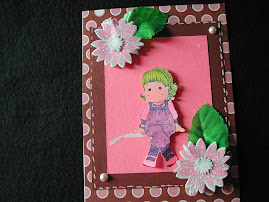 Tilda 1st Copic Card