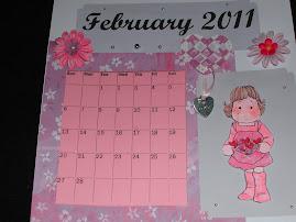 Feb. Calendar Swap