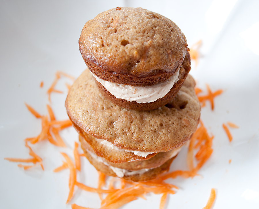Lighter and Local: Winter CSA Cooking: Carrot Cake Whoopie ...
