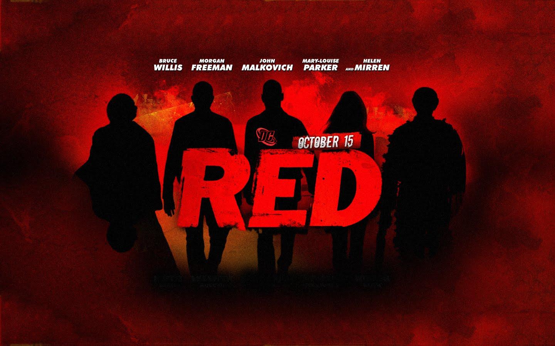 RED armados, peligroso... Bruce Willis