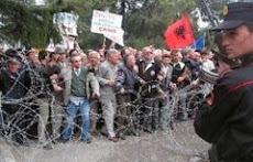 Protesta e çameve per Rezoluten