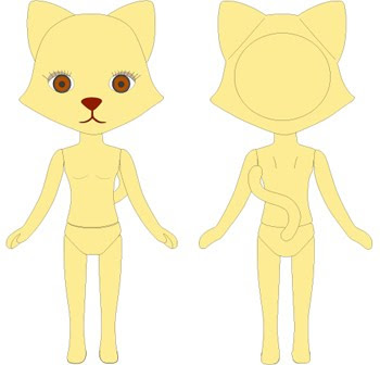 CCS/Petworks have been issuing these twosome cuties are basic NUDE dolls.... ...