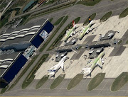 . EADS Astrium, EADS Airbus, and other aerospace companies. (airbus test area at tls)