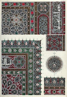Owen Jones, tapis, caligraphie, arabe