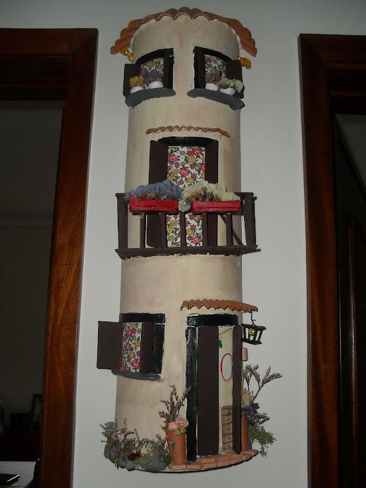 telha decorativa