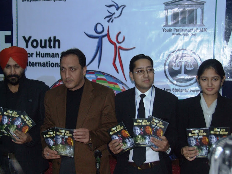 Human Rights Conference on 10th of December, 2010 at Press Club, Jammu